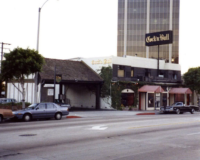 Cock 'N Bull on Sunset Strip, Jack Webb Cadillac, 1980s