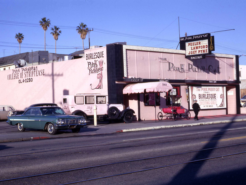 Pink Pussycat, College of Striptease, Los Angeles